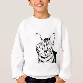 Flüchtige Katze Sweatshirt