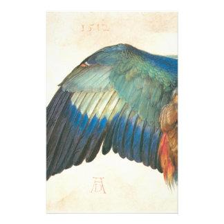 Flügel einer blauen Rolle durch Albrecht Durer Briefpapier