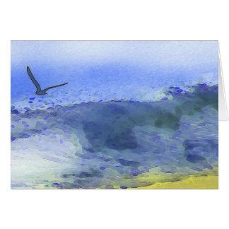 Flügel über dem Wasser   Karte