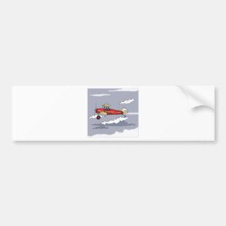 Flugzeug Autoaufkleber