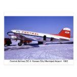 Flugzeug-Postkarten