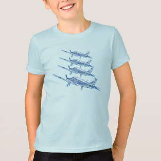 Flugzeug-Shirt… T-Shirt