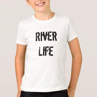 Fluss-Leben-Kinder T-Shirt