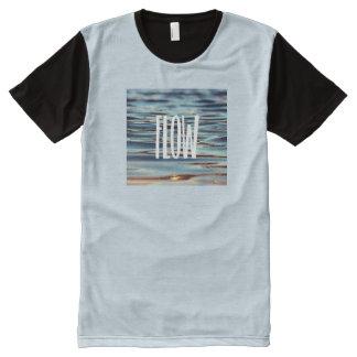 Fluss T-Shirt Mit Bedruckbarer Vorderseite