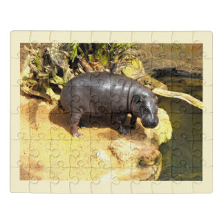 Flusspferd Puzzle