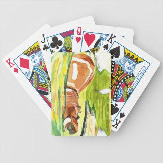 Flusspferd von der Safari Bicycle Spielkarten