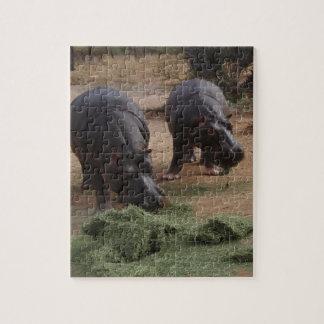 Flusspferde Puzzle