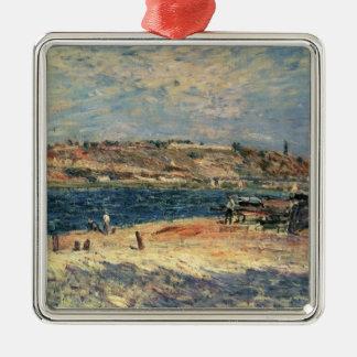 Flussufer Alfred Sisleys | am Heiligen-Mammes Silbernes Ornament