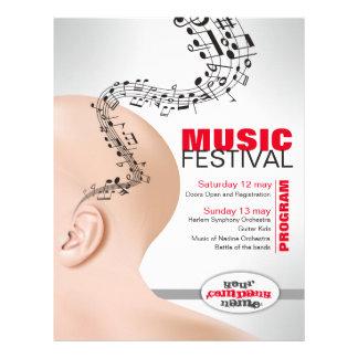 Flyer für musikalisches Ereignis