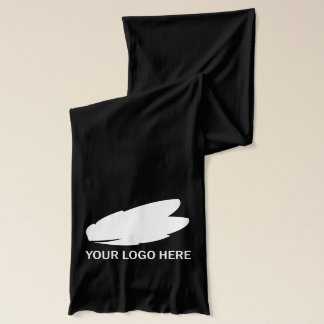 Fördernder Handelsname Ihr Logo hier auf Schal