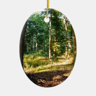 Forest Keramik Ornament