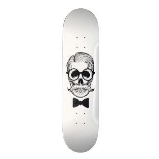 Form-Schädel-Entwurf Personalisierte Skatedecks