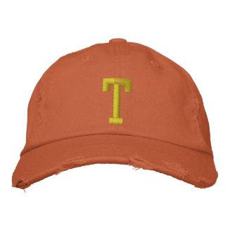 Formulieren Sie es Ball-Kappe des Anfangsbuchstabe Bestickte Baseballkappe