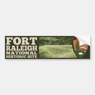 Fort-Raleigh-Staatsangehörig-historische Stätte Autoaufkleber