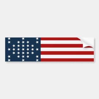 Fort Sumter des Stern-33 amerikanische zivile Autoaufkleber