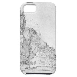 Fort zwischen Bergen und Meer durch Albrecht Durer iPhone 5 Etuis