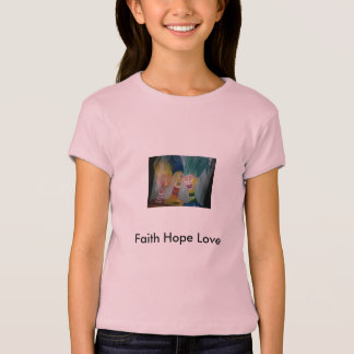 Foto 666, Glauben-Hoffnungs-Liebe T-Shirt