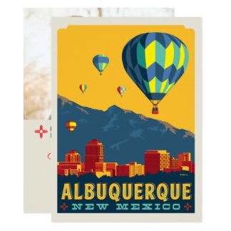 Foto Albuquerques, New-Mexiko   Save the Date - 14 X 19,5 Cm Einladungskarte