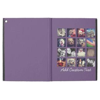 Foto-Collage mit Auberginen-Hintergrund - pics 16