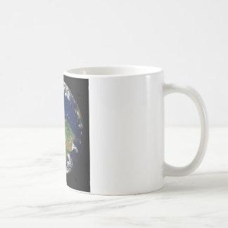 Foto der Erde Tasse