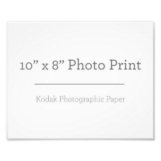 Foto-Druck der Gewohnheits-10 x 8 Fotodruck