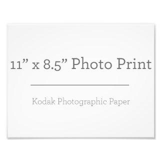 Foto-Druck der Gewohnheits-11 x 85 Fotodruck
