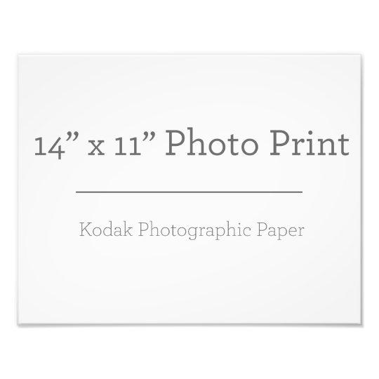 35,56cm x 27,94cm, Kodak Premium Foto-Papier (Satin)