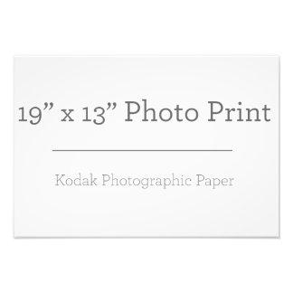 Foto-Druck der Gewohnheits-19 x 13 Fotodruck
