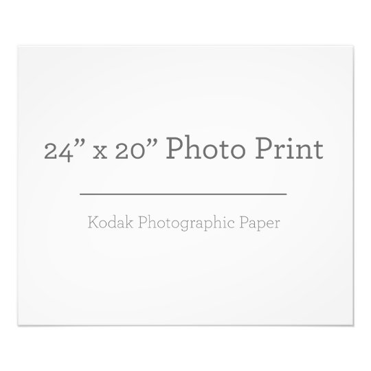 60,96 x 50,8cm, Kodak Premium Foto-Papier (Satin)