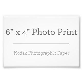 Foto-Druck der Gewohnheits-6 x 4 Fotodruck