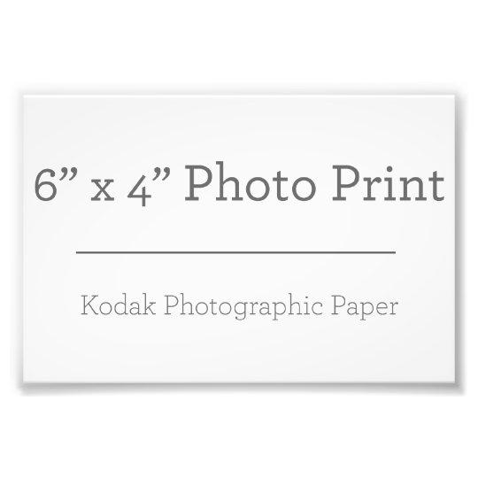 15,24cm x 10,16cm, Kodak Premium Foto-Papier (Satin)