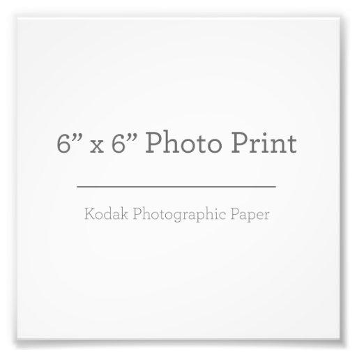 15,24cm x 15,24cm, Kodak Premium Foto-Papier (Satin)