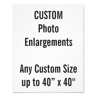 Foto-Erweiterung der Gewohnheits-280x350mm bis zu Fotodrucke