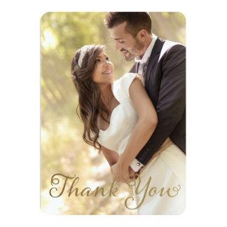 Foto-Hochzeit danken Ihnen, 12,7 X 17,8 Cm Einladungskarte