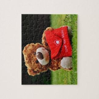Foto-Puzzlespiel der Mamma-Liebe-8x10 mit Puzzles