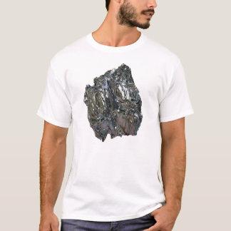 Foto-realistisches Chrom auf Weiß T-Shirt