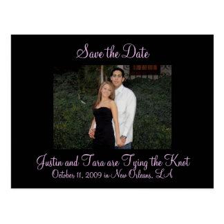 Foto-Save the Date Postkarte