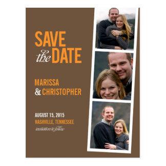 individuelle save the date postkarten. Black Bedroom Furniture Sets. Home Design Ideas