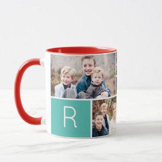 Foto-Tasse der Liebe-Collagen-5 Tasse