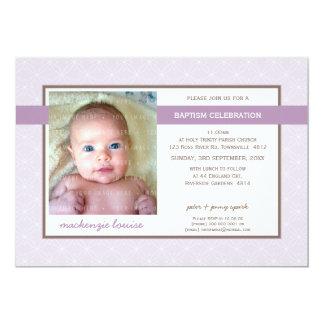 FOTO-TAUFE LADEN: EIN: Ruhm 5L 12,7 X 17,8 Cm Einladungskarte