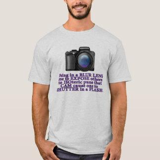 Foto-Wortspiel-T - Shirt