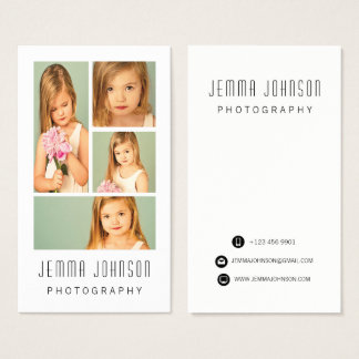 Fotograf-Fotografie-Foto-Rahmen-Geschäfts-Karte Visitenkarten