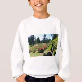 Fotografie des Rosen-Gartens, Portland, Oregon Sweatshirt