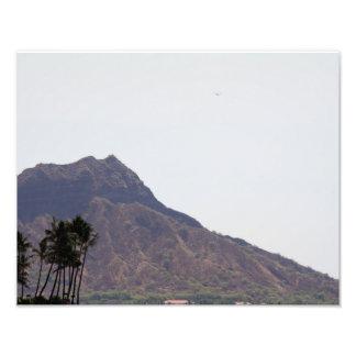 Fotografie-Diamant-Kopf Hawaii Photographien