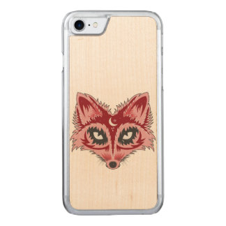 Fox-Illustration Carved iPhone 8/7 Hülle