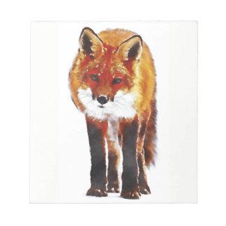 fox Notizblock, foxy Notizblock, das stationäre Notizblock