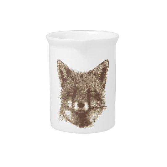 Fox-Schale/Tasse Getränke Pitcher