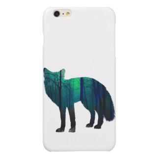 Fox-Silhouette - Waldfuchs - Fuchskunst - wildfox