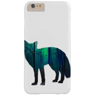 Fox-Silhouette - Waldfuchs - Fuchskunst - wildfox Barely There iPhone 6 Plus Hülle