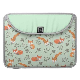 Foxy BlumenMacbook Prohülse MacBook Pro Sleeves
